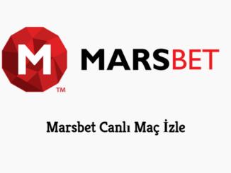 Marsbet Canlı Maç İzle